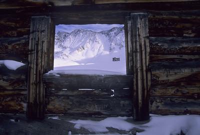 Cabin Window, Mayflower Gulch, Colorado