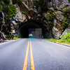 Skyline Drive  - Shenandoah National Park Tunnel, Virginia
