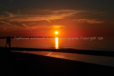 """""""Lover's Sunset"""" - Lake Ontario"""