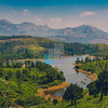 View of Anayirakal Dam, Munnar, Kerala, India