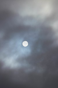 Daytime Moonscape