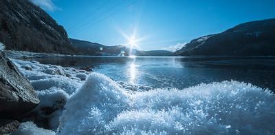 Kaldt i Åraksbø