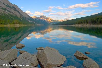 Medicine Lake - Jasper National Park - Alberta, Canada