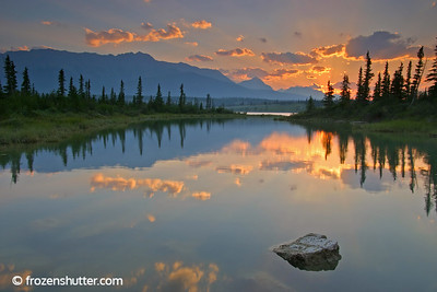 Mountain Light - Jasper National Park - Alberta, Canada