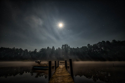 moonlit waters