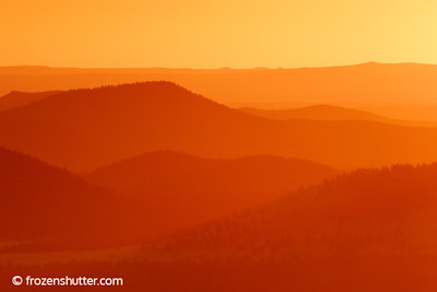 Orange Glow - Flagstaff, Arizona
