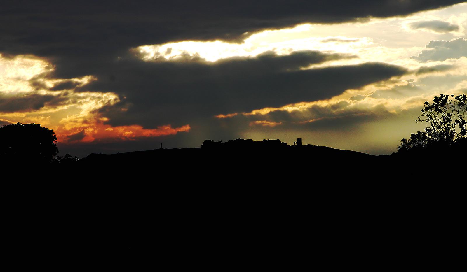 Bradgate sunset