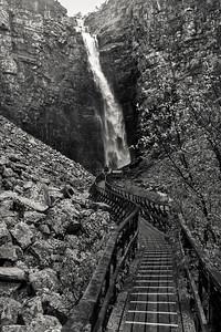 Njuperskärs waterfall - I