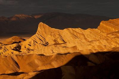 Death Valley Zabriskie Point sunrise