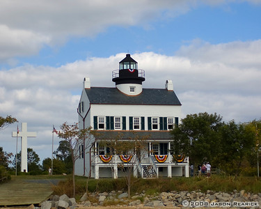 Blackistone Lighthouse on St Clements Island, MD