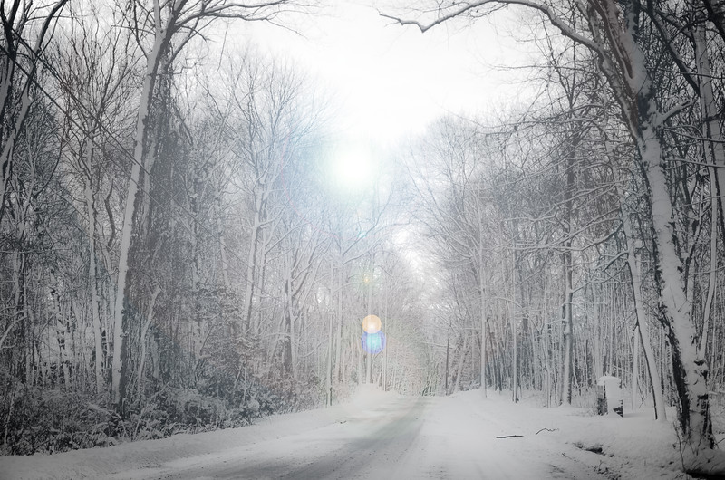 Snowy Road - CT