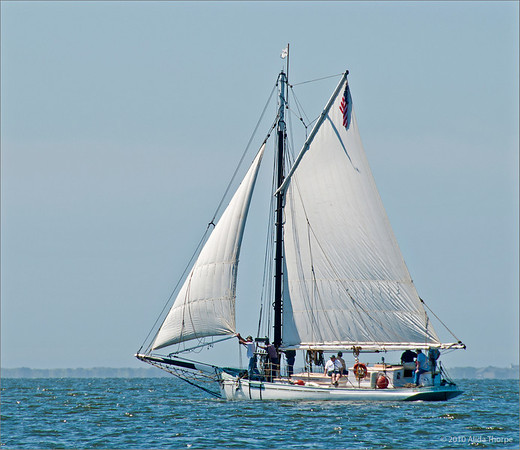 Oyster Boat on Great South Bay, The Priscilla