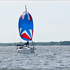Spinnaker, sailing, Great South Bay
