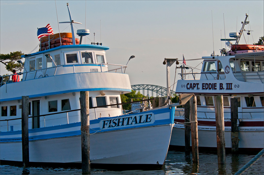 Captree fishing boats, Long Island