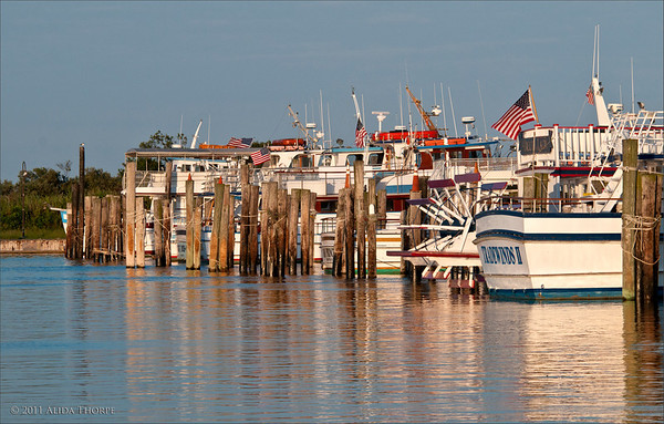 Captree Fishing fleet, boating, Captree State Park