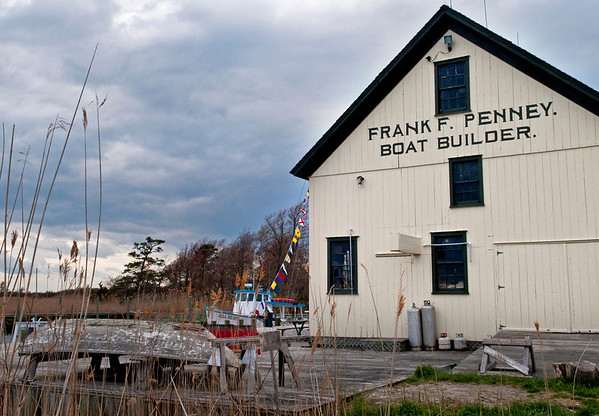 Frank F Penney, boat builder, West Sayville Maritime Museum