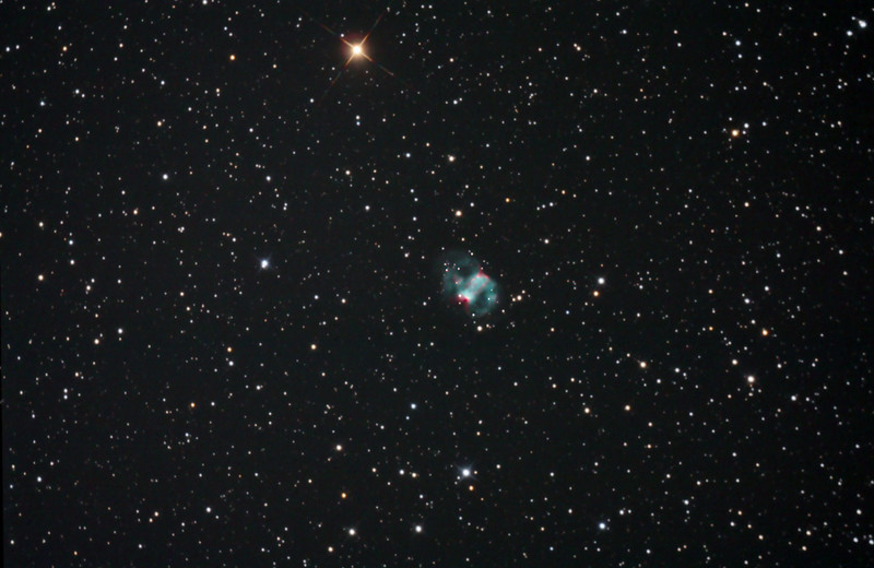 M76 - The Little Dumbbell, Planetary Nebula