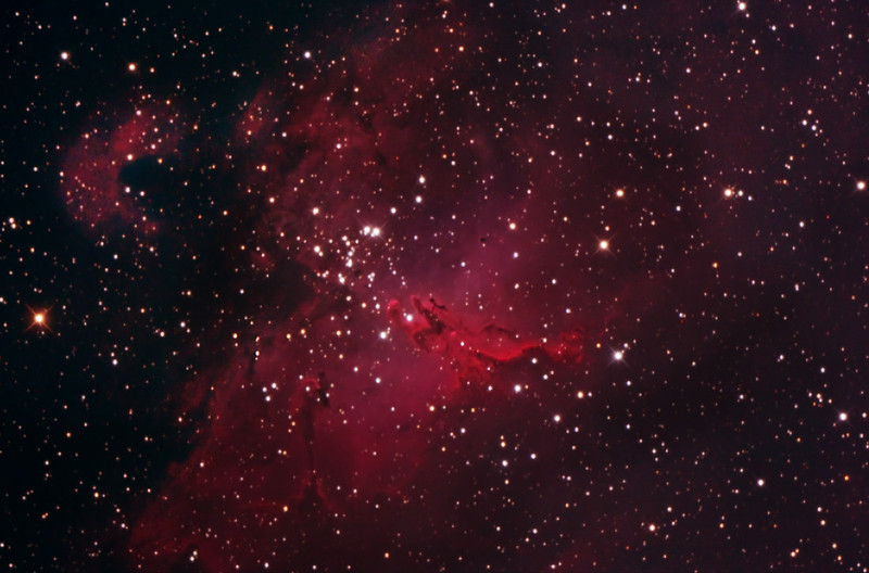 M16 - Eagle or Star Queen Nebula in Serpens