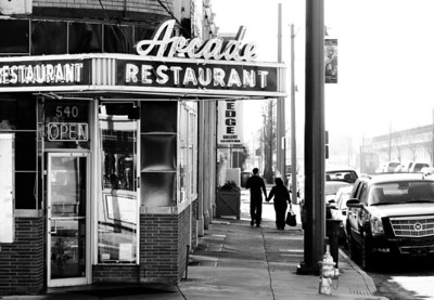 Arcade Restaurant, Plate 3
