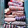 Stored blankets, Kathmandu