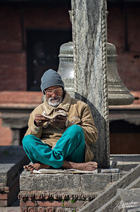 The old reader of Pashupatinath