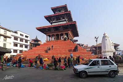 Durbar Square of Kathmandu.