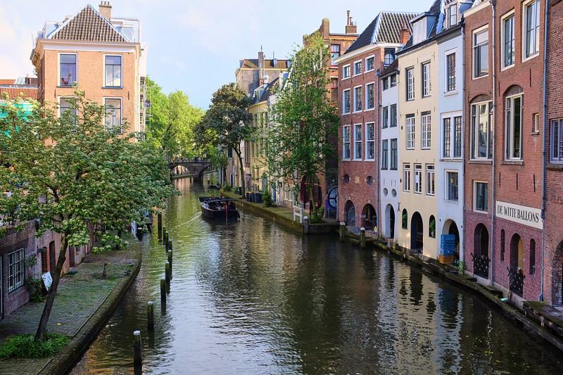 Pastel Canal - Utrecht, Netherlands