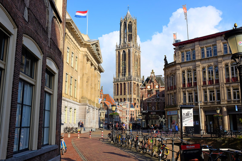 Dom Tower, Framed - Utrecht, Netherlands