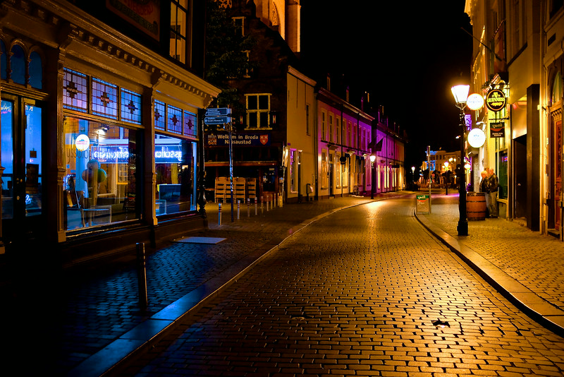 A Touch of Blue and Purple - Breda, Netherlands