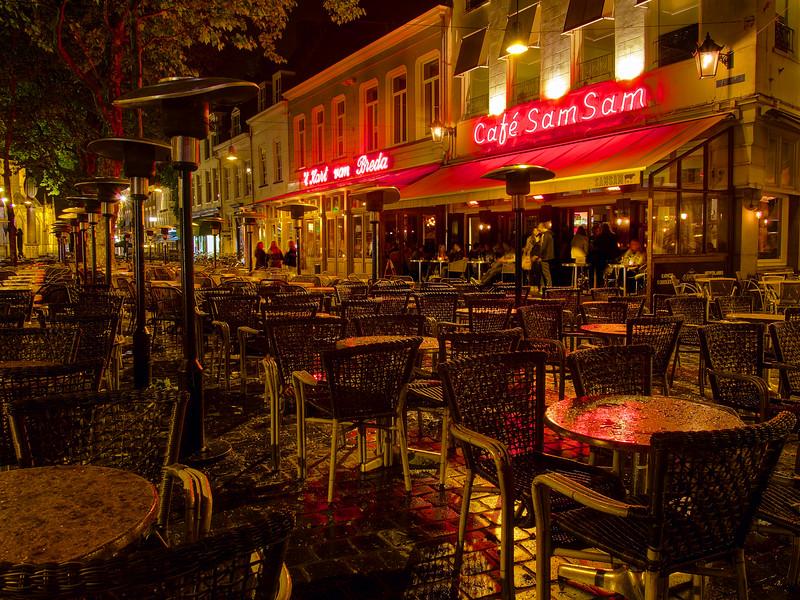 Empty Seats at Cafe Sam Sam - Breda, Netherlands