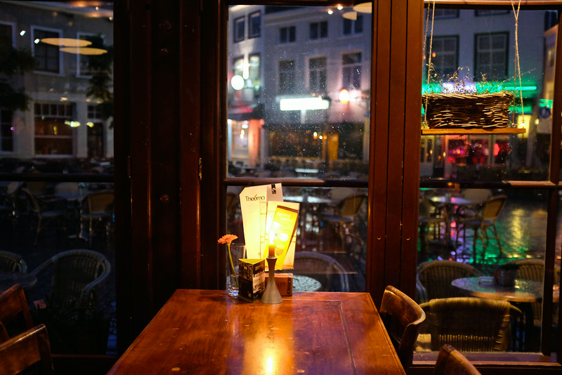 A Table by the Window - Breda, Netherlands