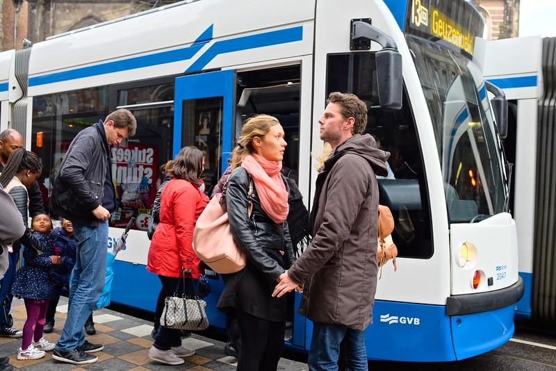 The Trams of Amsterdam #10 - Amsterdam, Netherlands