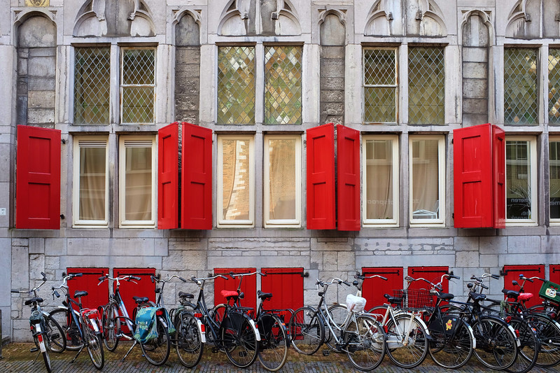 Red Shutters - Utrecht, Netherlands