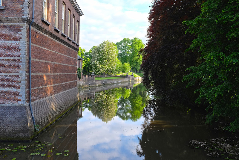 Reflections at Breda Castle - Breda, Netherlands