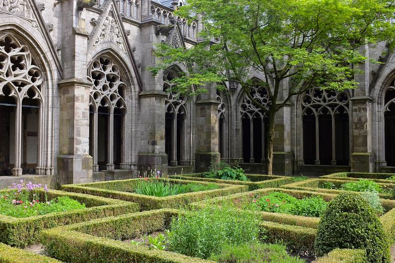 Pandhof Garden, Dom Church - Utrecht, Netherlands