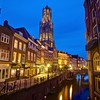 Dom Tower at Blue Hour - Utrecht, Netherlands