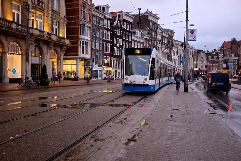 The Trams of Amsterdam #6 - Amsterdam, Netherlands