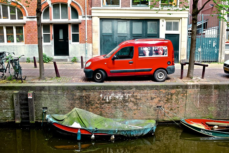 Red Truck - Amsterdam, Netherlands
