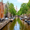 Picturesque Canal - Amsterdam, Netherlands
