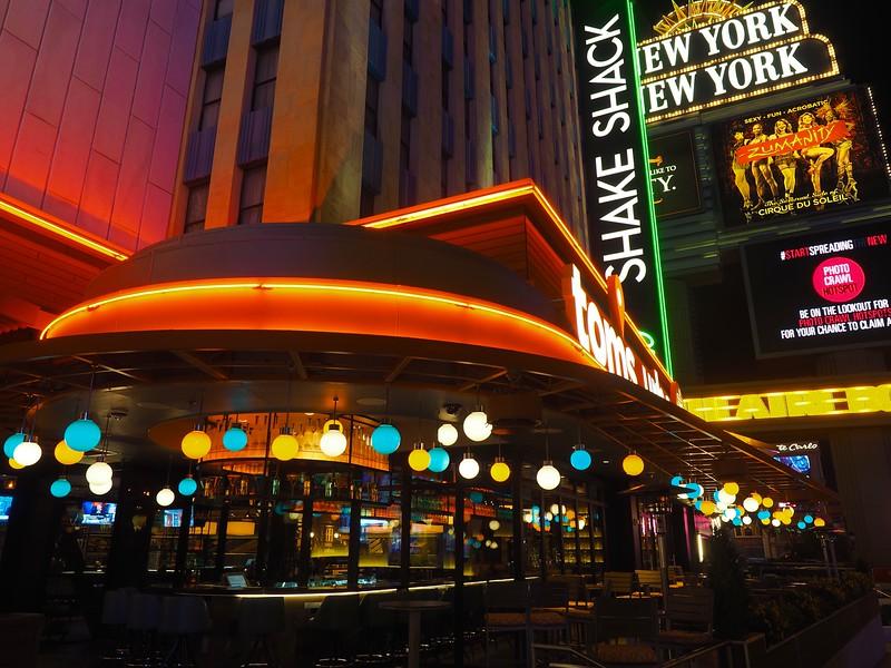 Neon Curves at New York New York - Las Vegas, Nevada