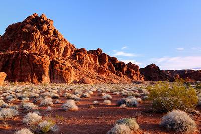 Sunrise Valley of Fire State Park