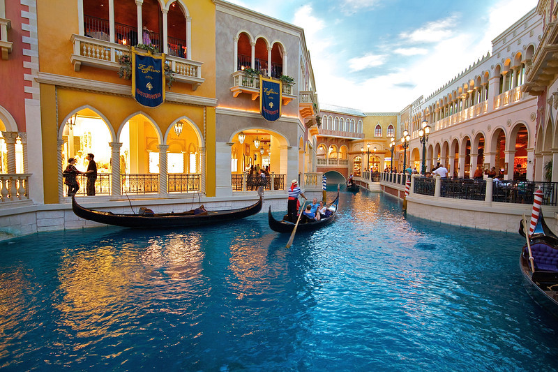 Faux Canal, The Venetian - Las Vegas, Nevada
