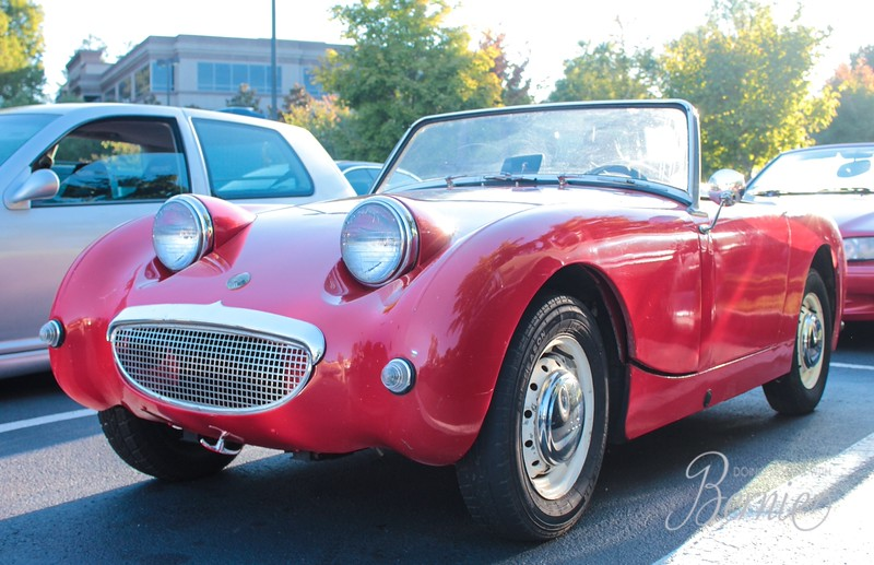 Austin Healy Sprite at Caffeine and Octane