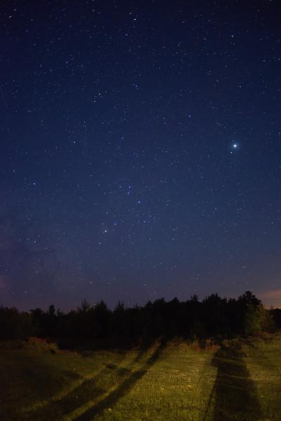 Starry Door County Night