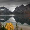 """Thundering Reflections"" Tetons National Park, Wyoming"