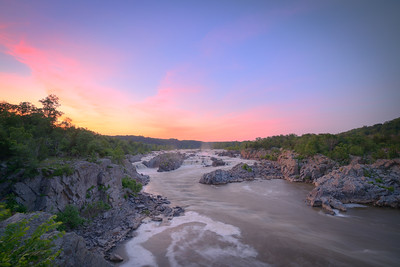 River of Color || Great Falls Park, VA