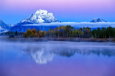 Morning Twilight Oxbow Bend