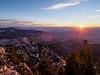 Sundown from the mountain