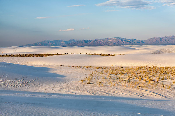 Early Morning at White Sands