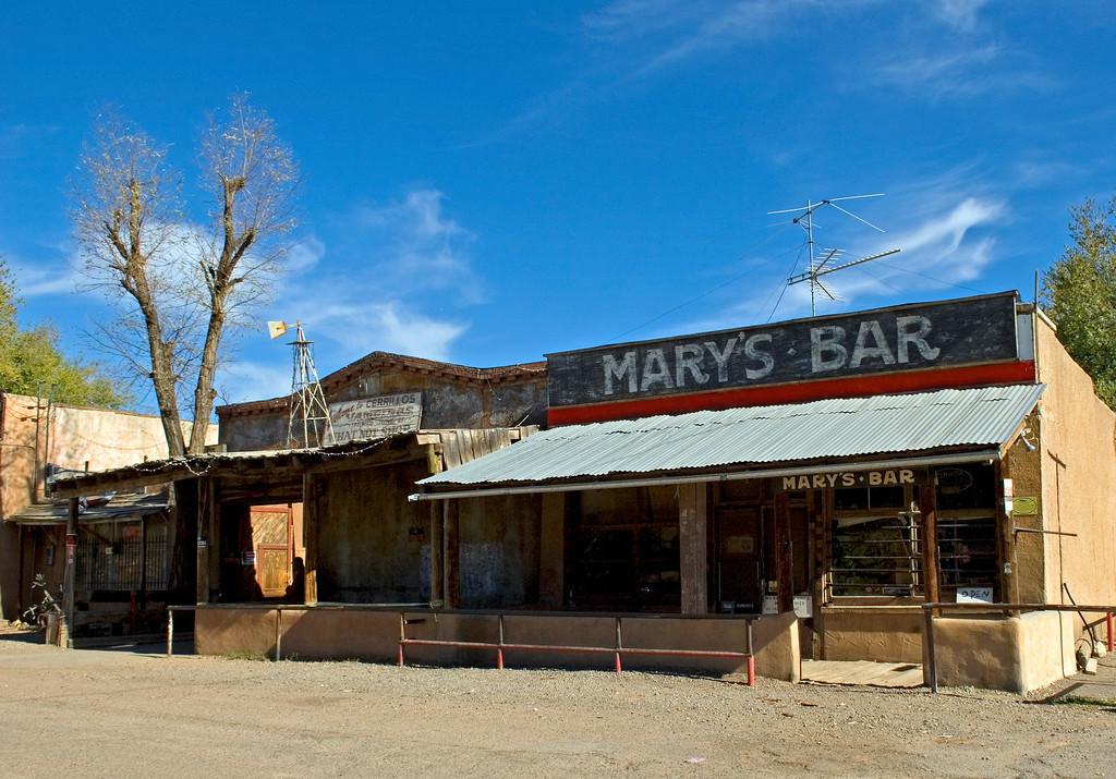 Mary's Bar, Cerrillos, New Mexico